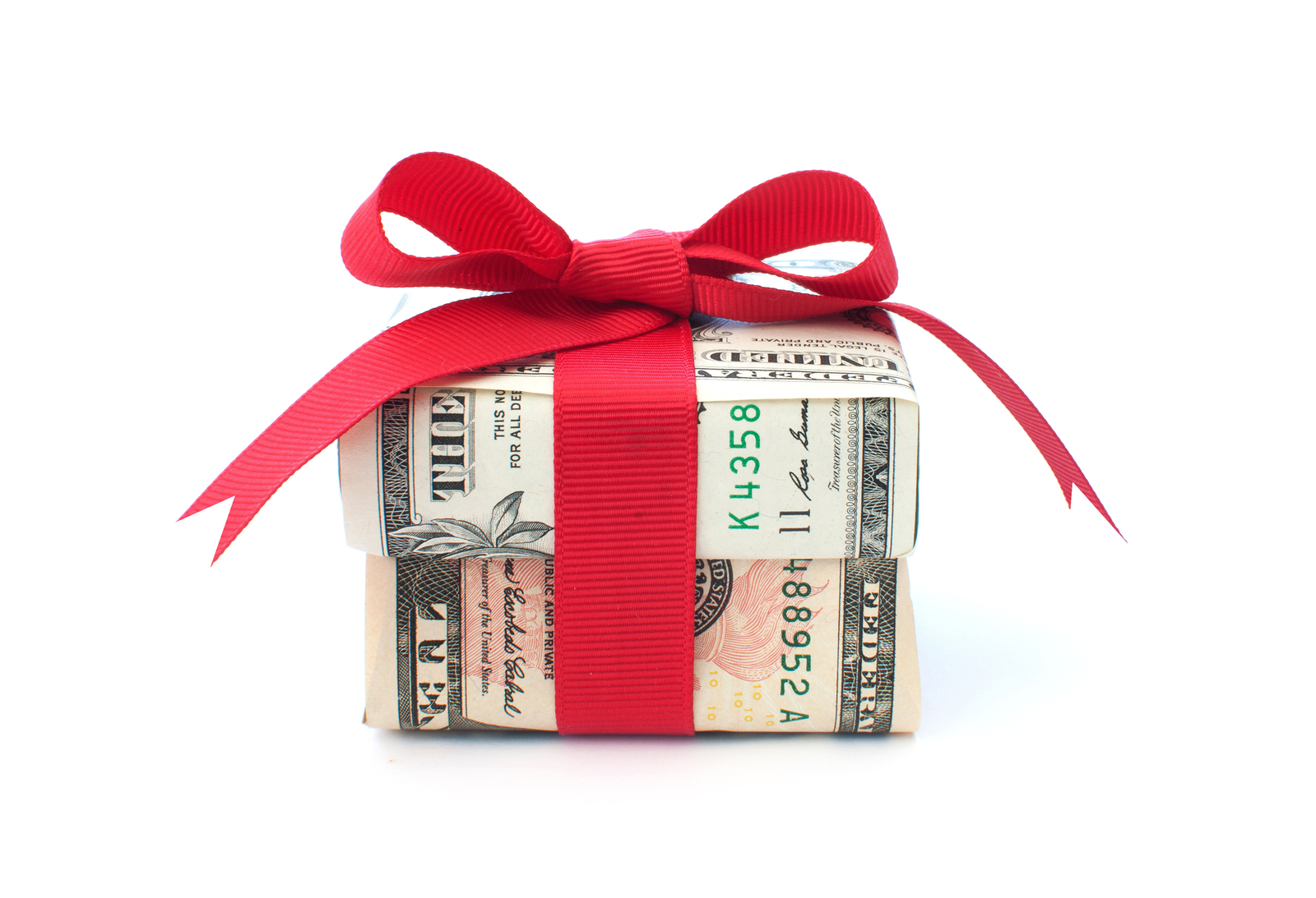 bigstock-Money-Gift-40080100
