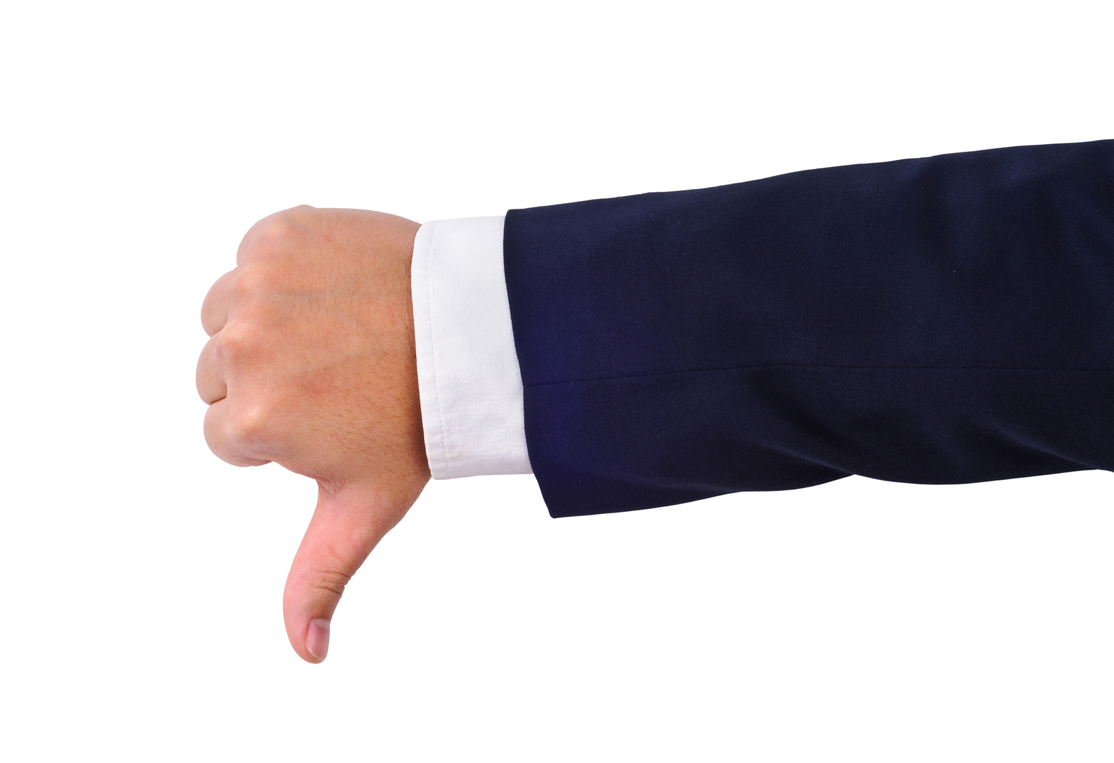 bigstock-Businessman-s-Thumb-Down-Hand--37710778
