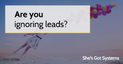 Are you ignoring leads