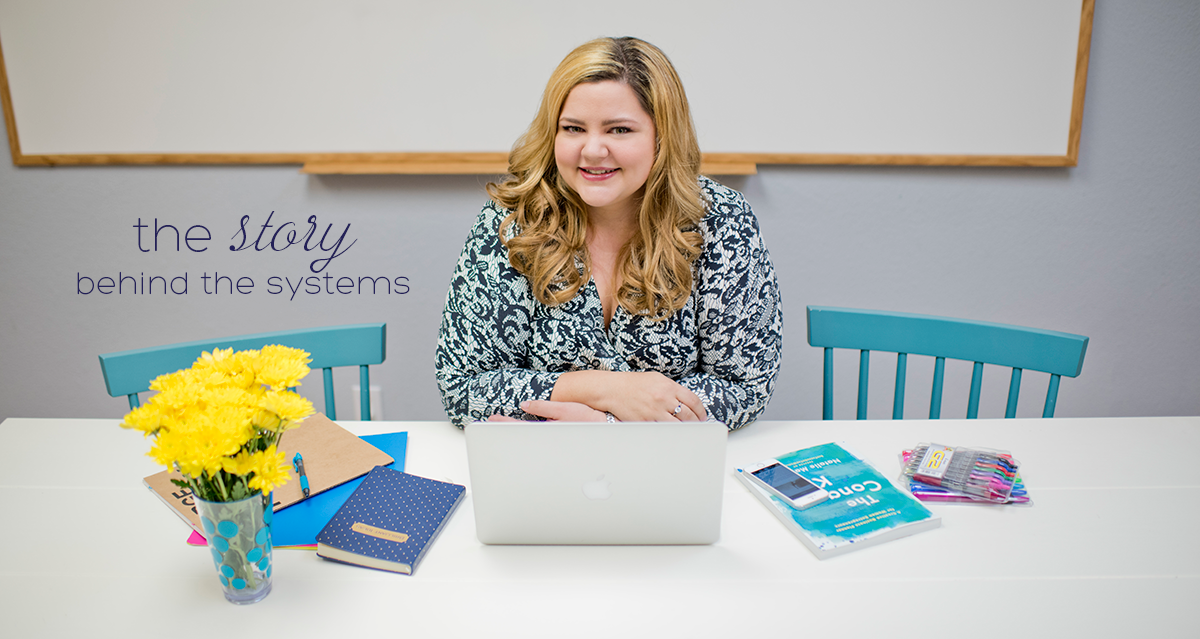 the story behind the systems- about Kelly Azevedo and She`s Got Systems
