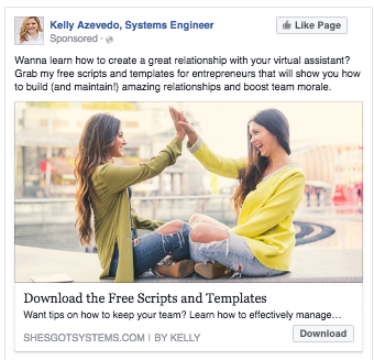 FB ad example 3