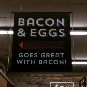 Grocery Store Sign