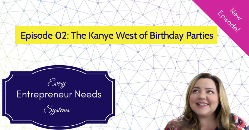 The Kayne West of Birthday Parties