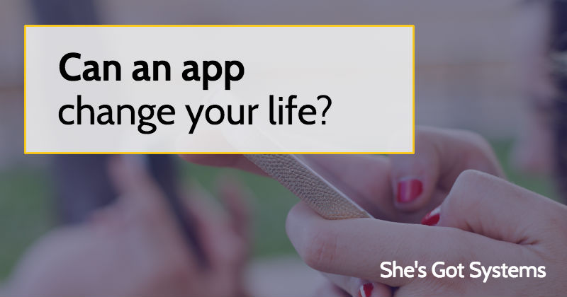 Can an app change your life?