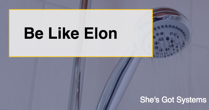 Be Like Elon