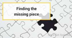 finding the missing piece