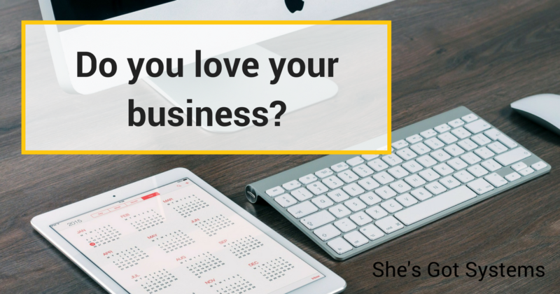 Do you love your business